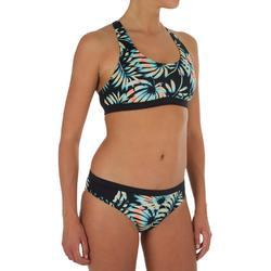 Klassiek bikinibroekje voor surfen Master Palm