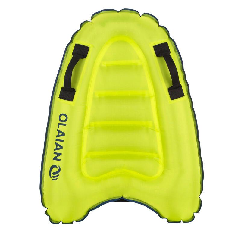 Bodyboard gonflable discovery enfant vert poignées