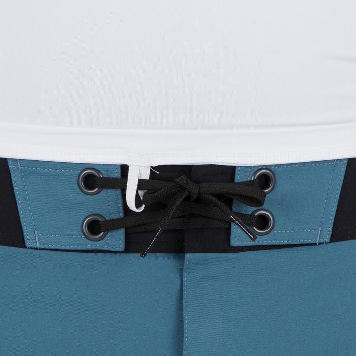 Uv-werende rashguard 100 met lange mouwen voor heren wit - 1296635