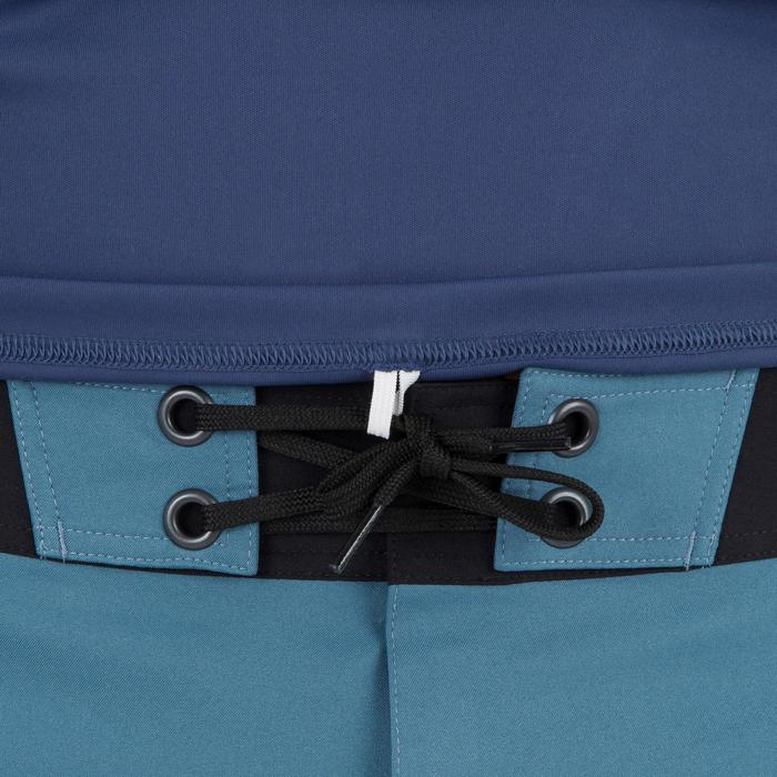 Uv-werend zwemshirt met lange mouwen voor heren, voor surfen, blauw grijs - 1296637