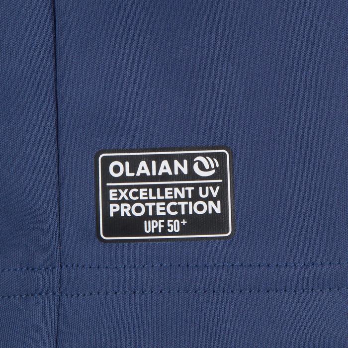 Uv-werend zwemshirt met lange mouwen voor heren, voor surfen, blauw grijs - 1296638