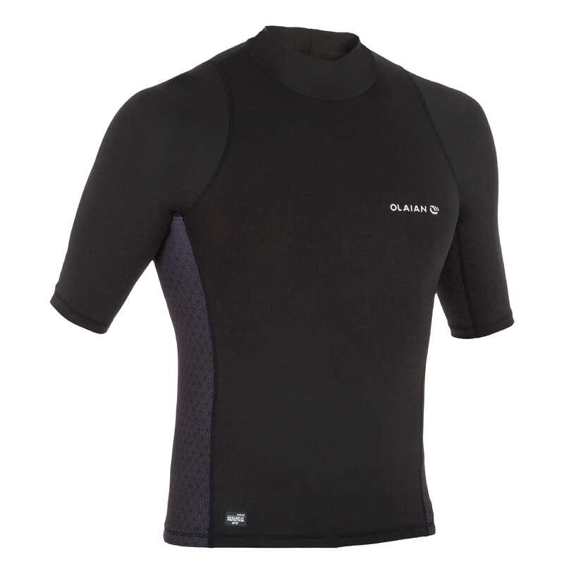 PROTECTION SOLAIRE HOMME Vattensport och Strandsport - Rashguard UVTOP500S Herr OLAIAN - UV-Kläder, Rashguard och Solskydd