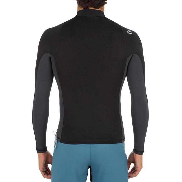 tee shirt anti uv surf top 500 manches longues homme - 1296665