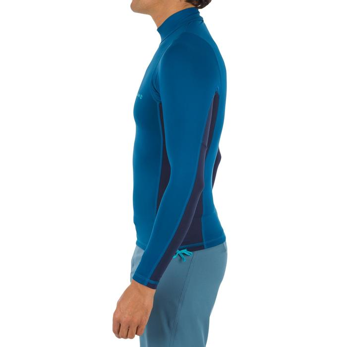 tee shirt anti uv surf top 500 manches longues homme - 1296670