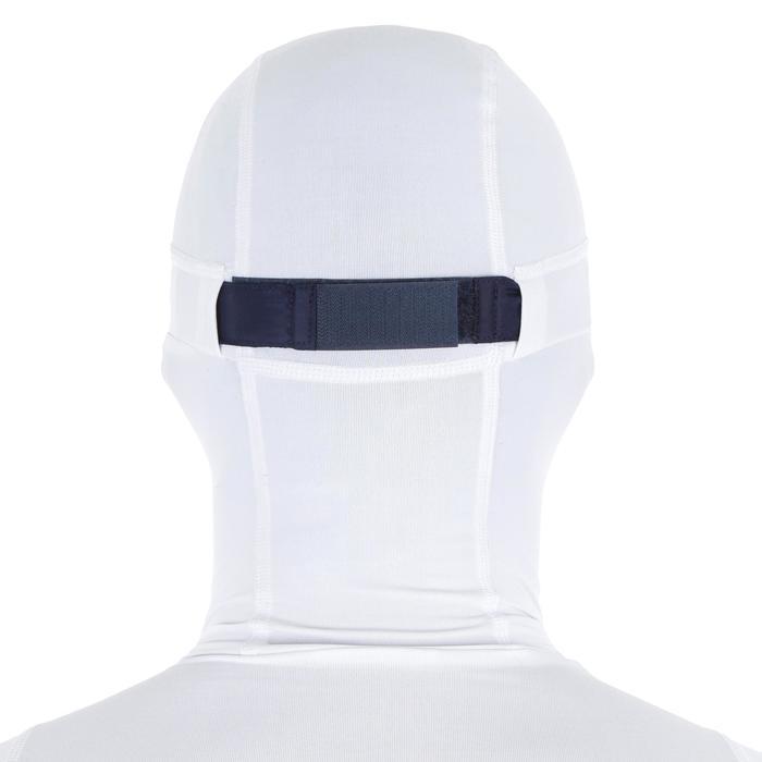 Uv-werende rashguard 500 met kap voor heren wit - 1296673
