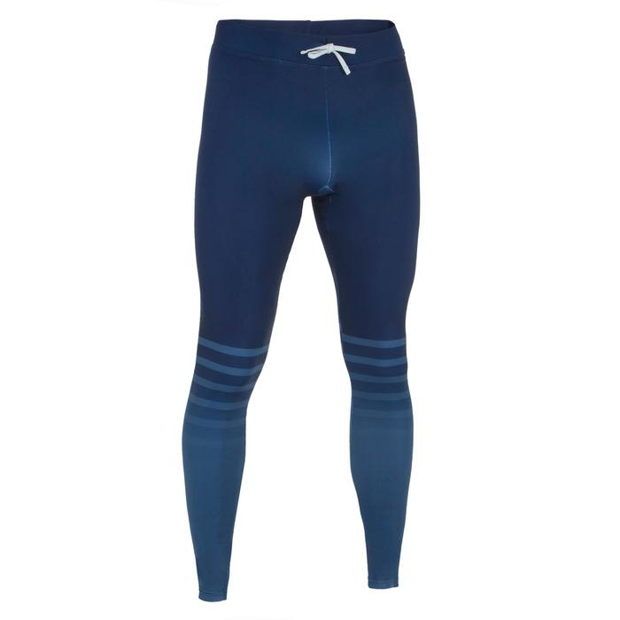 Legging anti UV surf 500 homme bleu marine