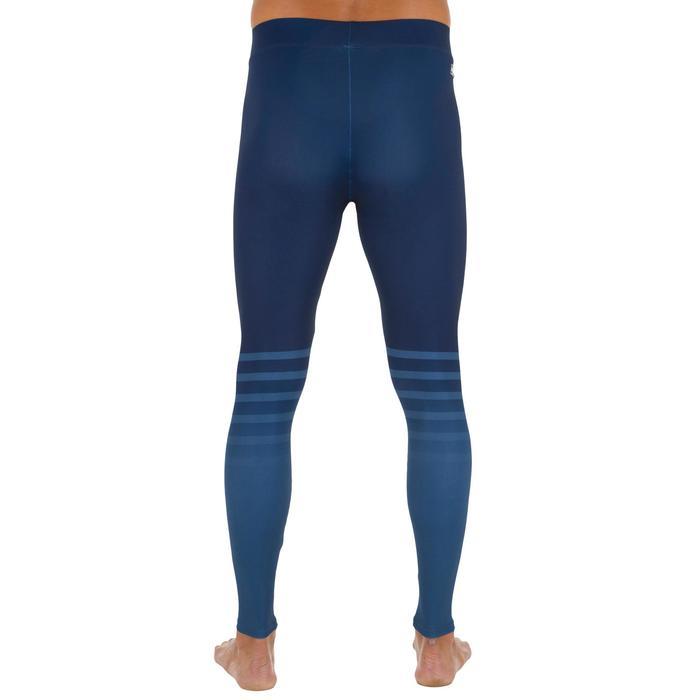 Legging anti UV surf 100 homme bleu marine