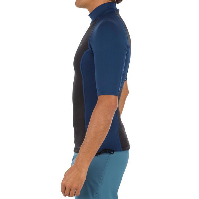tee shirt anti UV surf top néoprène polaire thermique manches courtes homme - 1296691