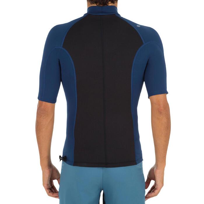 tee shirt anti UV surf top néoprène polaire thermique manches courtes homme - 1296697