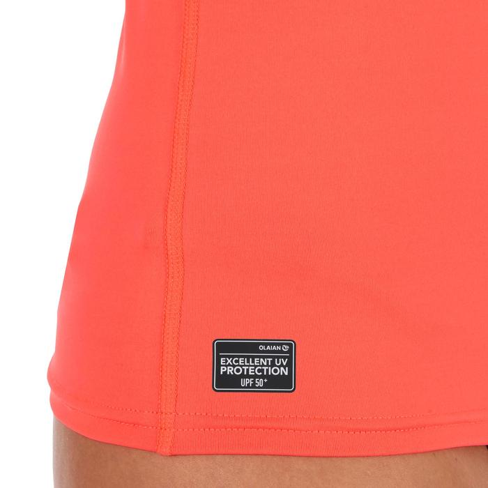 tee shirt anti uv surf top 100 manches courtes femme - 1296751