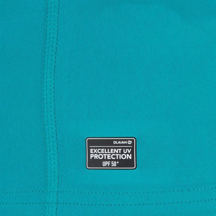 tee shirt anti uv surf top 100 manches courtes femme - 1296758