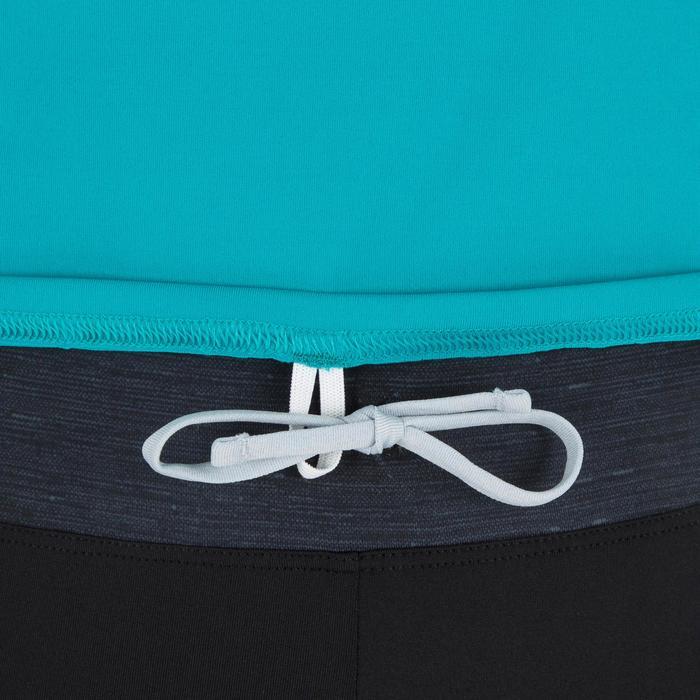 tee shirt anti uv surf top 100 manches courtes femme - 1296761