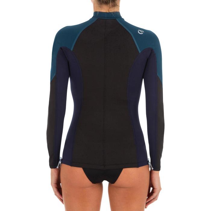 tee shirt anti UV surf top néoprène polaire manches longues femme - 1296765
