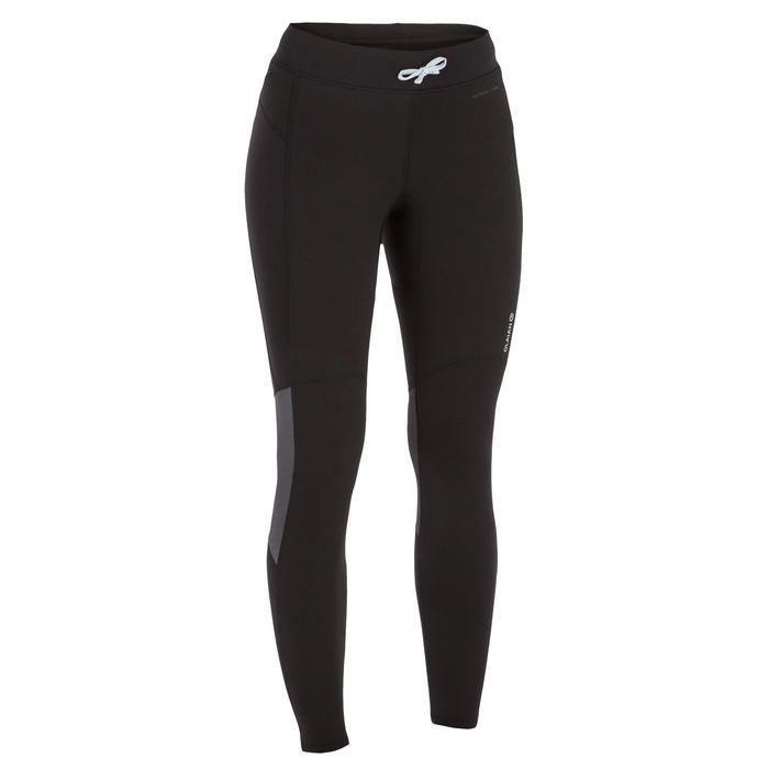 Legging néoprène anti UV surf 900 femme noir - 1296779