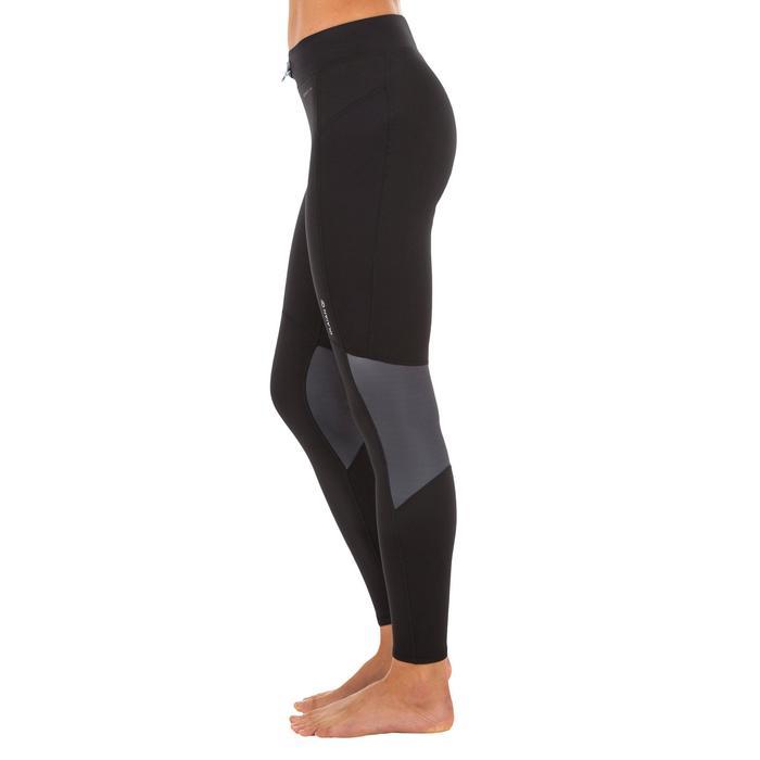 Legging néoprène anti UV surf 900 femme noir - 1296782