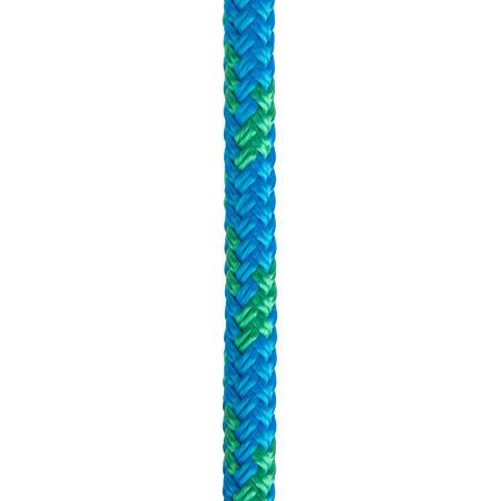 Sailing Sheet 8 mm x 15 m - Blue/Green