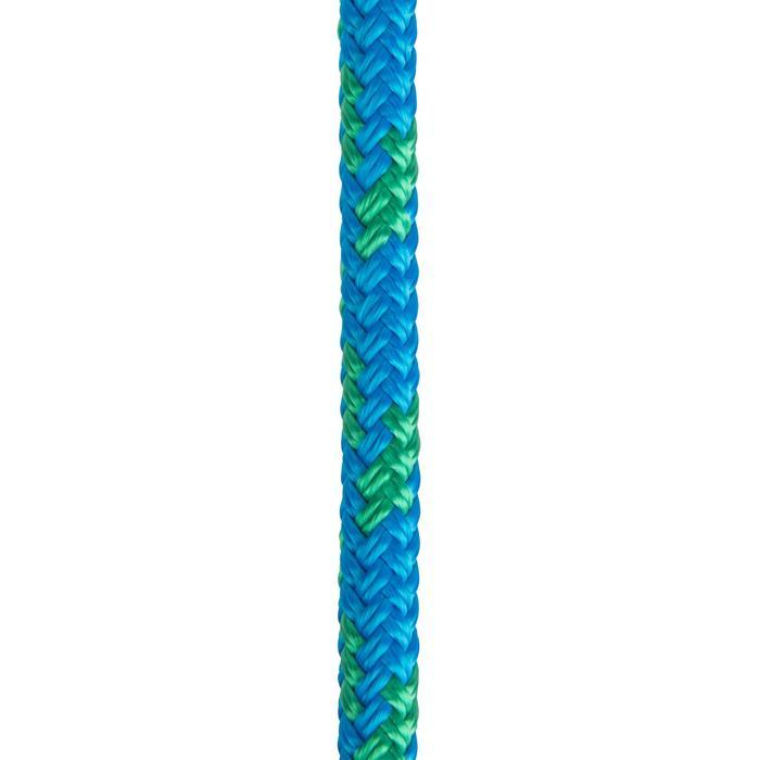 Touwwerk boot schoot 8 mm x 15 m blauw/groen