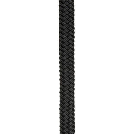 Mooring Rope 12 mm x 12 m - Black