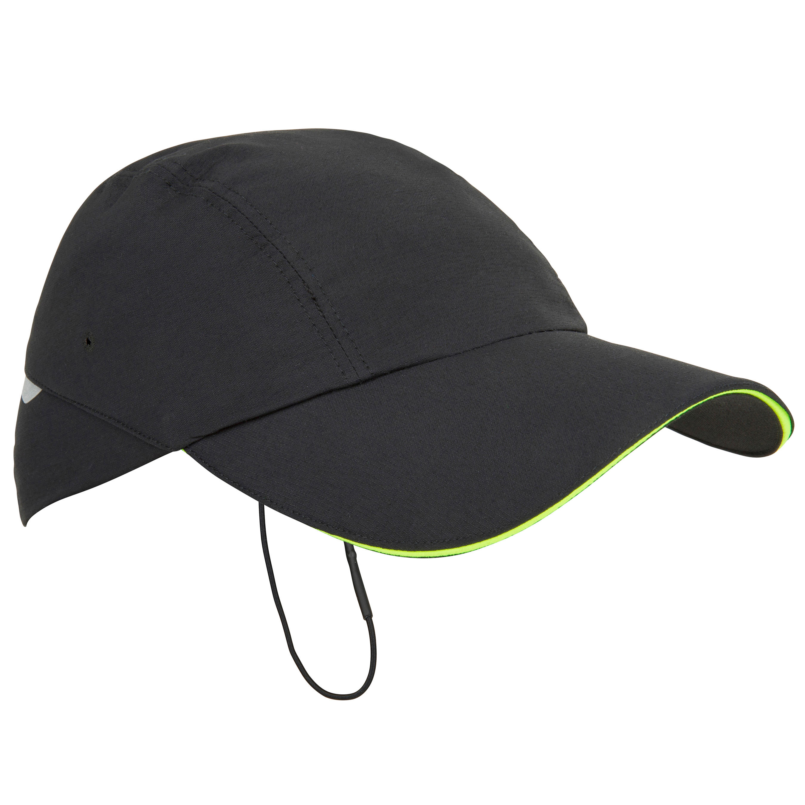 Adult Sailing Race Cap - Black