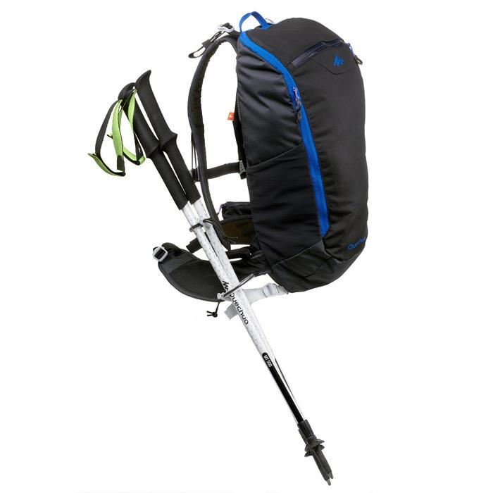 Rapid Hiking Backpack FH500 Helium 15 Litre - Black/Blue