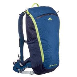Rugzak voor fast hiking FH500 Helium 15 liter blauw/geel