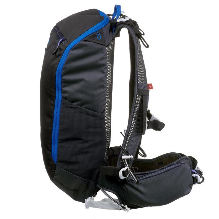 Mochila de senderismo rápido FH500 Helium 15 litros Negro/Azul