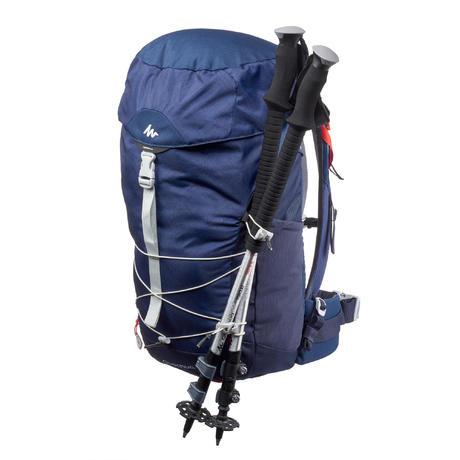sac a dos de randonn e mh100 30 litres bleu quechua. Black Bedroom Furniture Sets. Home Design Ideas