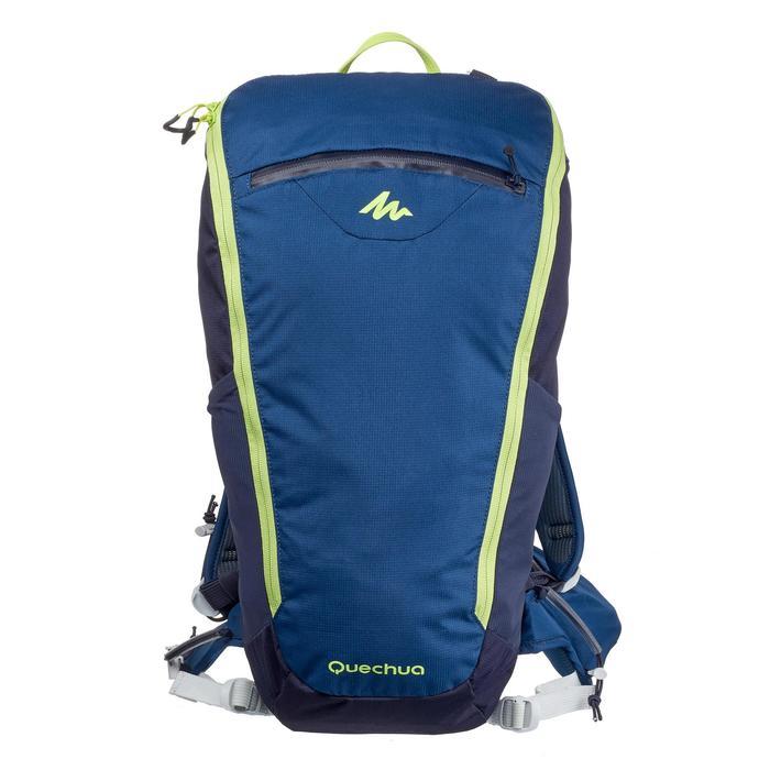 Sac à dos de randonnée rapide FH500 Helium 15 litres Bleu/Jaune