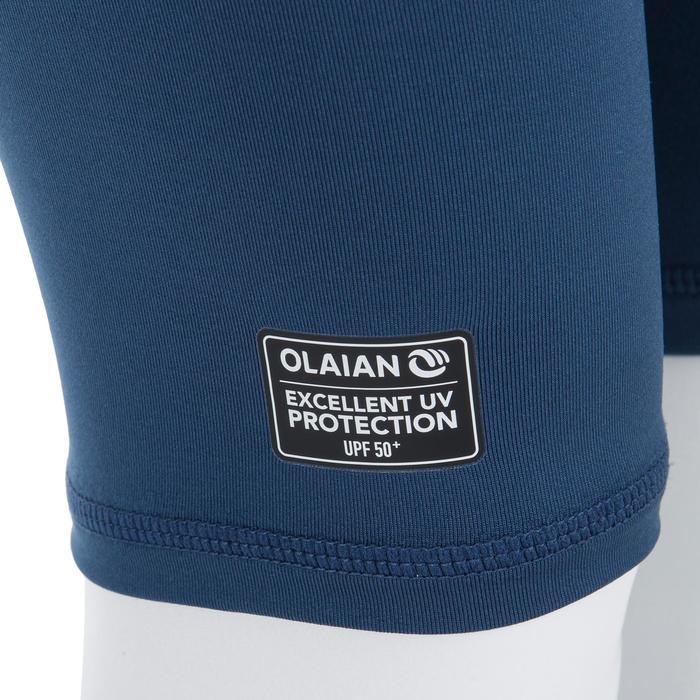 3/4-Hose mit UV-Schutz Surfen 100 Baby blau/grau