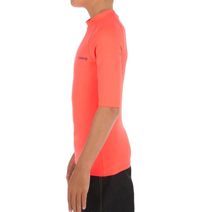 tee shirt anti uv surf top 100 manches courtes enfant - 1297049