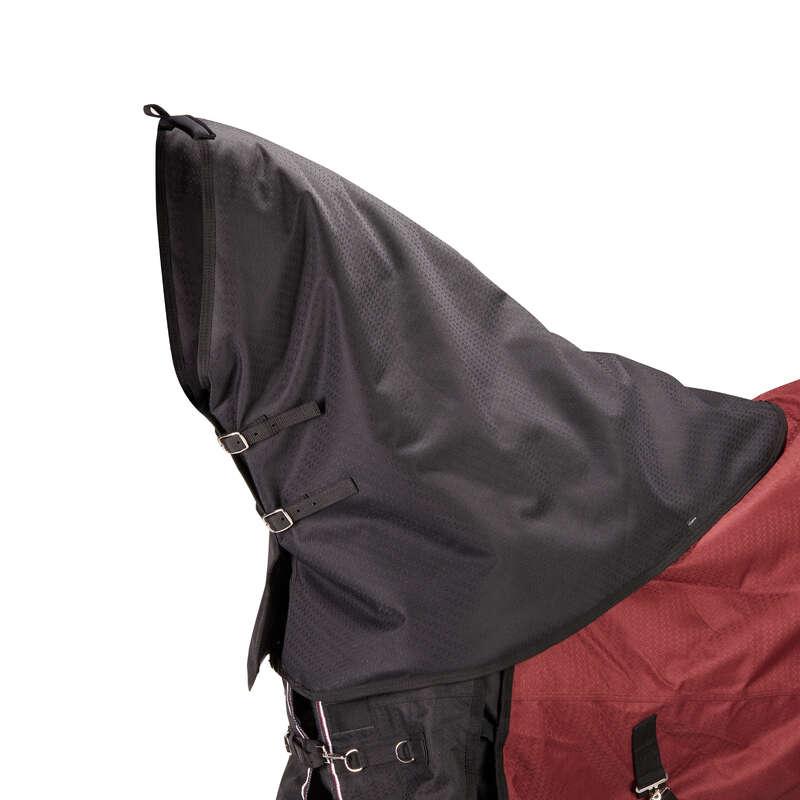 Pătură exterior Echitatie - Protecţie Gât Allweather 300 FOUGANZA - Ingrijire Cal