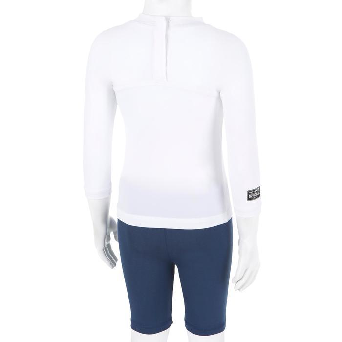 UV-Shirt Surfen Top 100 langarm recycelt Baby weiß