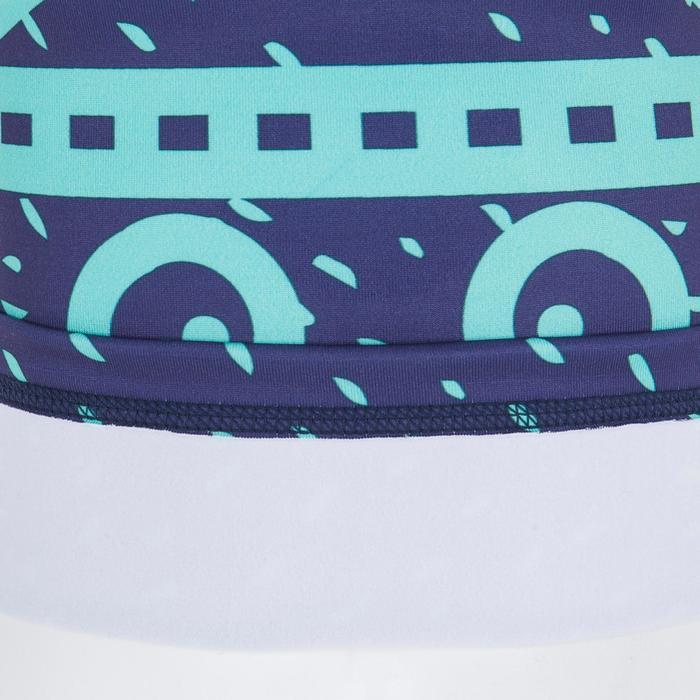 Tee shirt anti-UV surf top thermique polaire manches longues bébé bleu marine