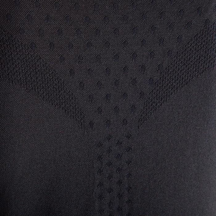 Women's Seamless Dynamic Yoga T-Shirt - Black
