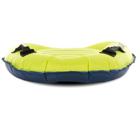 Kids' Inflatable Discovery Bodyboard with Handles - Green