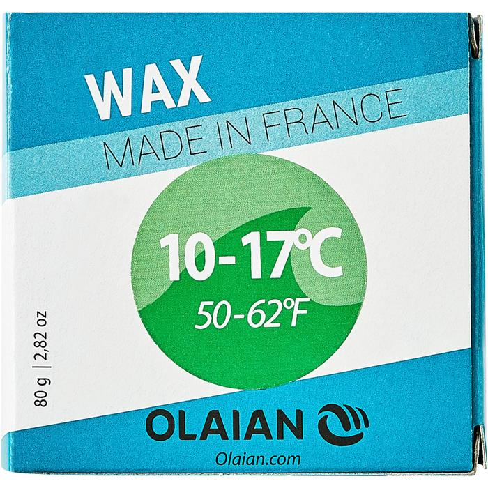 Surf-Wax kalte Wassertemperatur 10°–17°C