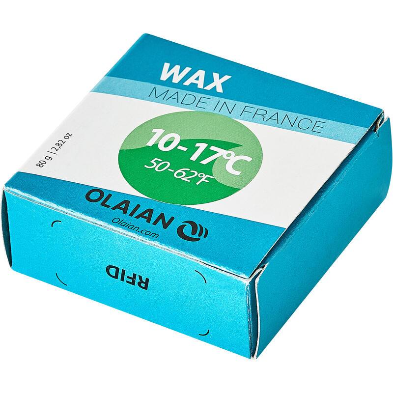 Wax para Prancha de Surf Águas Frias de 10 a 17 °C