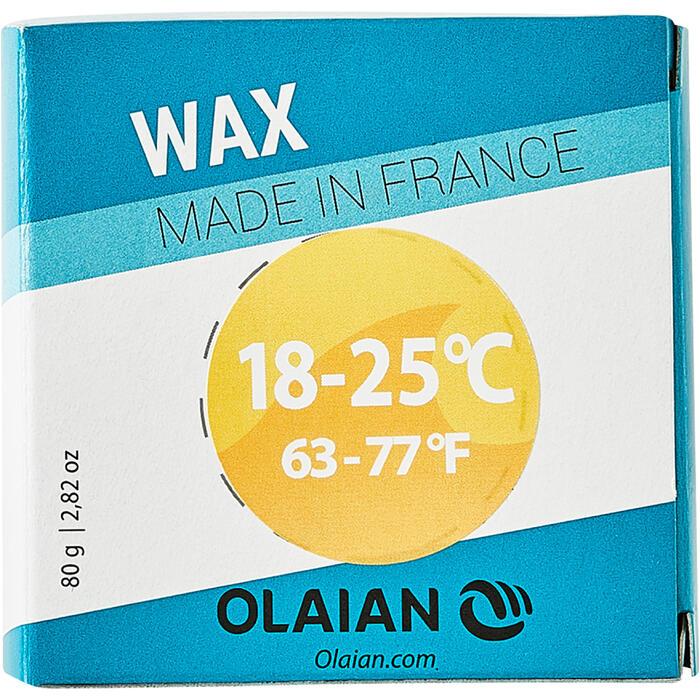 Surfwax voor matig warm water van 18- 25°C