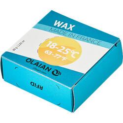 Wax para Prancha de Surf Água Amena de 18 a 25 °C