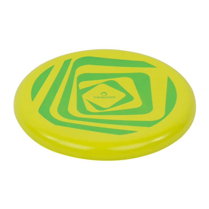 FLYING DISCS / BOOMERANG Frisbees and Boomerangs - DSoft Frisbee - Loop Green OLAIAN - Sports