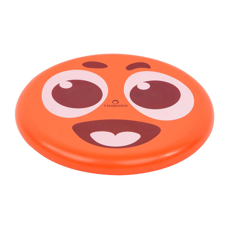 Frisbee DSoft rouge sourire