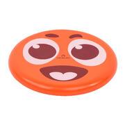 Rdeč frizbi z nasmejanim obrazom DSOFT