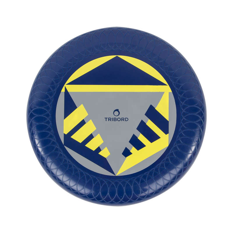 FLYING DISCS / BOOMERANG Frisbees and Boomerangs - D125 Frisbee - Navy Blue OLAIAN - Sports