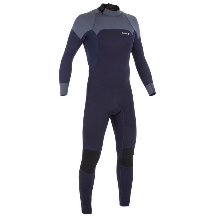 Neopreen wetsuit 500 voor heren 3/2 mm marineblauw - 1297393