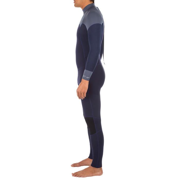 Neoprenanzug Surfen 500 3/2mm Herren marineblau