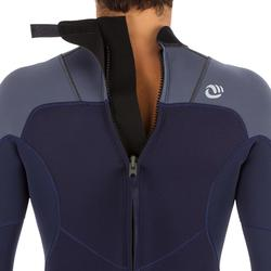 Men's Surfing Wetsuit 500 3/2 mm Neoprene - Navy Blue