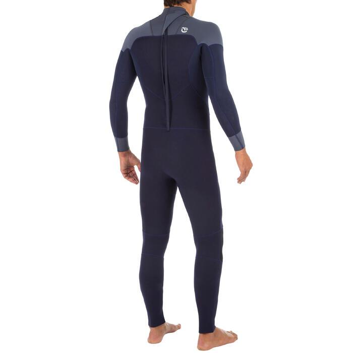 男款氯丁橡膠(neoprene)3/2 防寒衣SURF 500-軍藍色