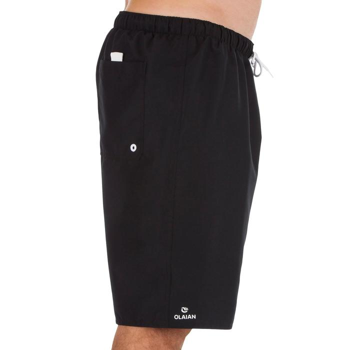 Boardshort long hendaia noir - 1297401