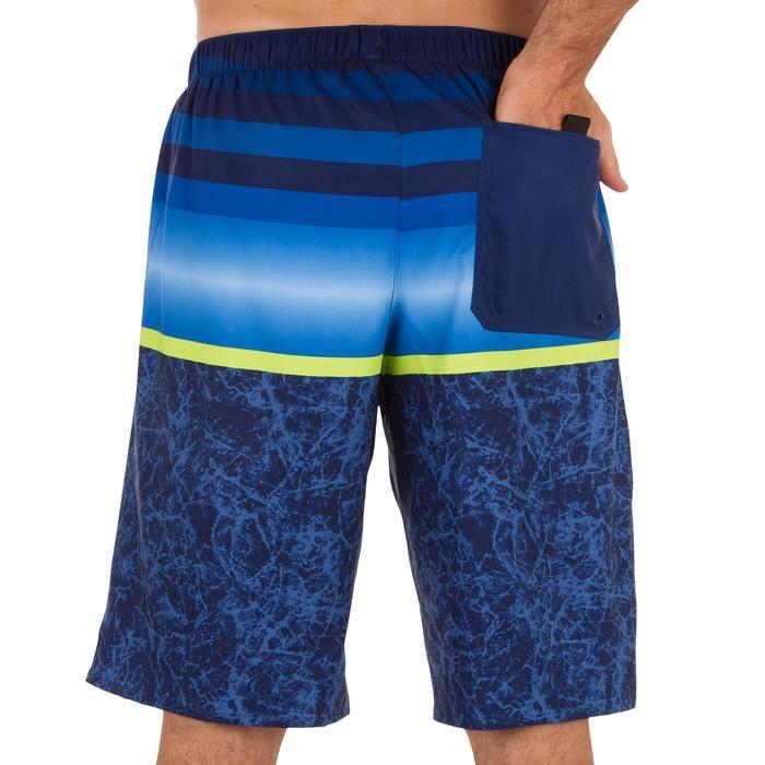 Surf boardshort largo 100 Stripes azul