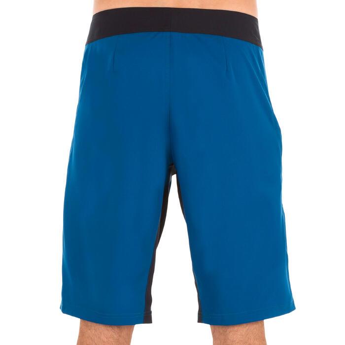 """Bañador Largo Surf Olaian 500 Liso Hombre Azul 20"""""""
